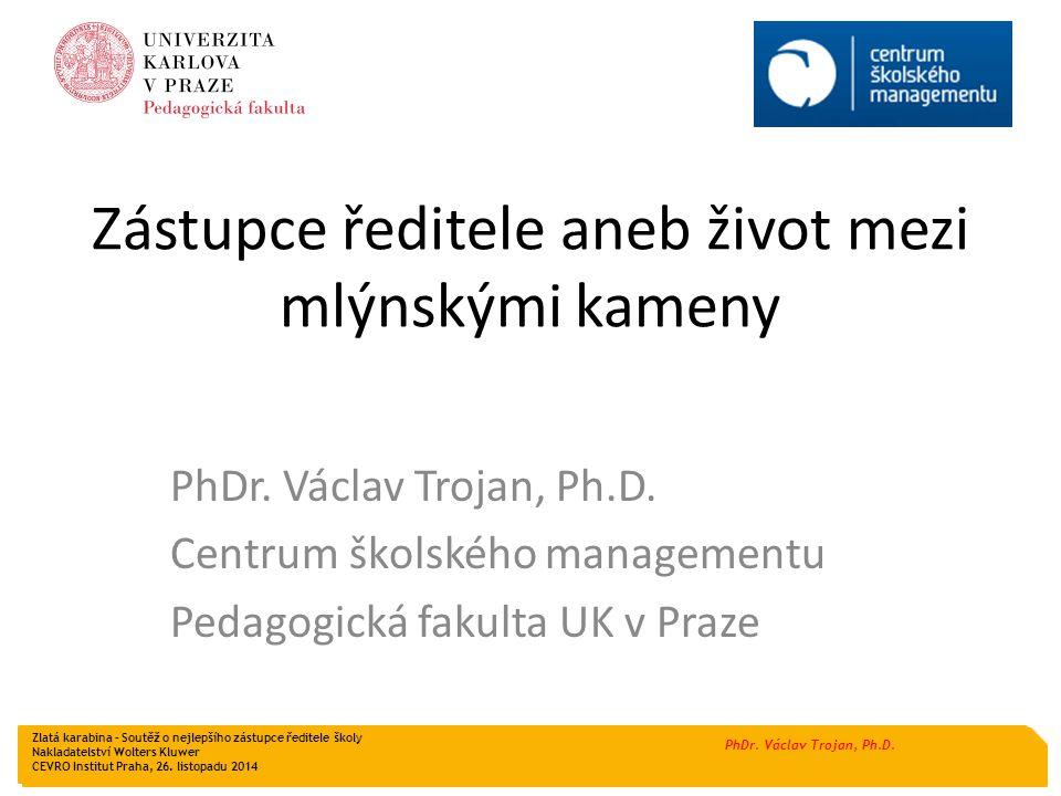 PhDr.Václav Trojan, Ph.D.