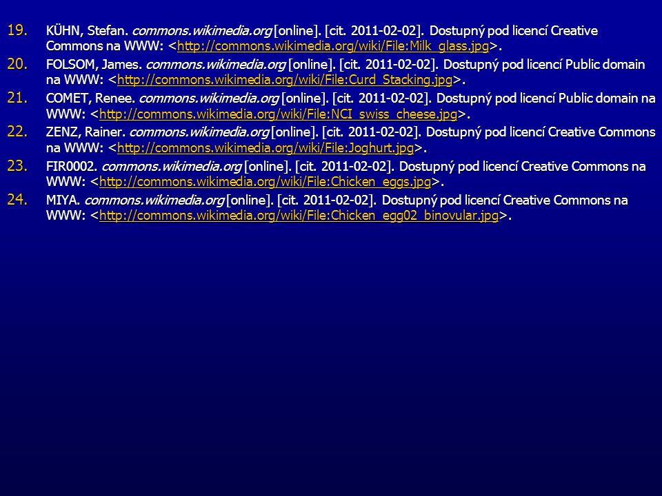 19. KÜHN, Stefan. commons.wikimedia.org [online]. [cit. 2011-02-02]. Dostupný pod licencí Creative Commons na WWW:. http://commons.wikimedia.org/wiki/