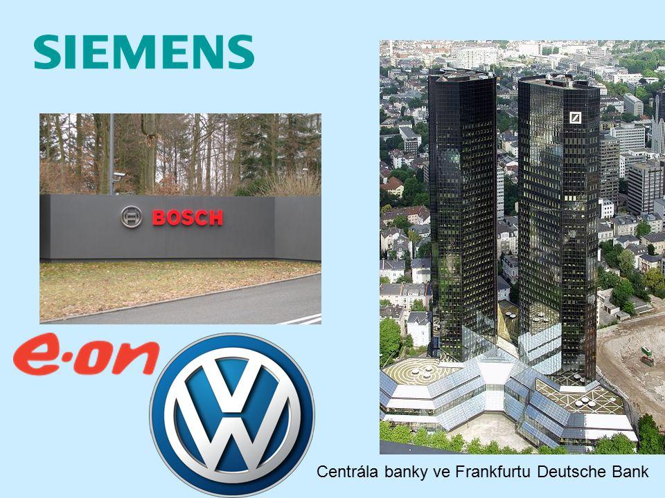 Deutsche Bank Centrála banky ve Frankfurtu