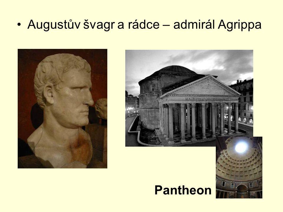 Augustův švagr a rádce – admirál Agrippa Pantheon