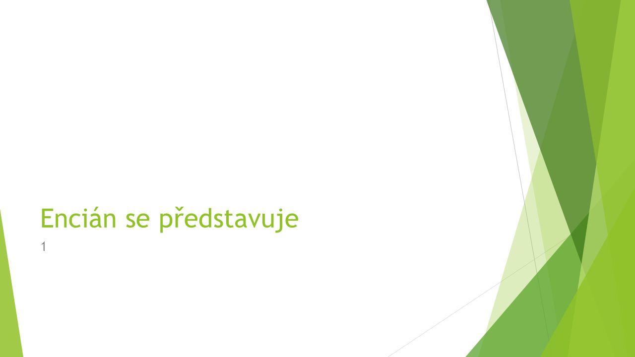 Charakteristika firmy Encián  vyvíjí a distribuuje programy pro malé a střední podniky  parametry  6 oddělení, 20 zaměstnanců  6 programů  69 odběratelů (malé a střední podniky v různých stadiích vývoje)  budova o 3 podlažích  1.