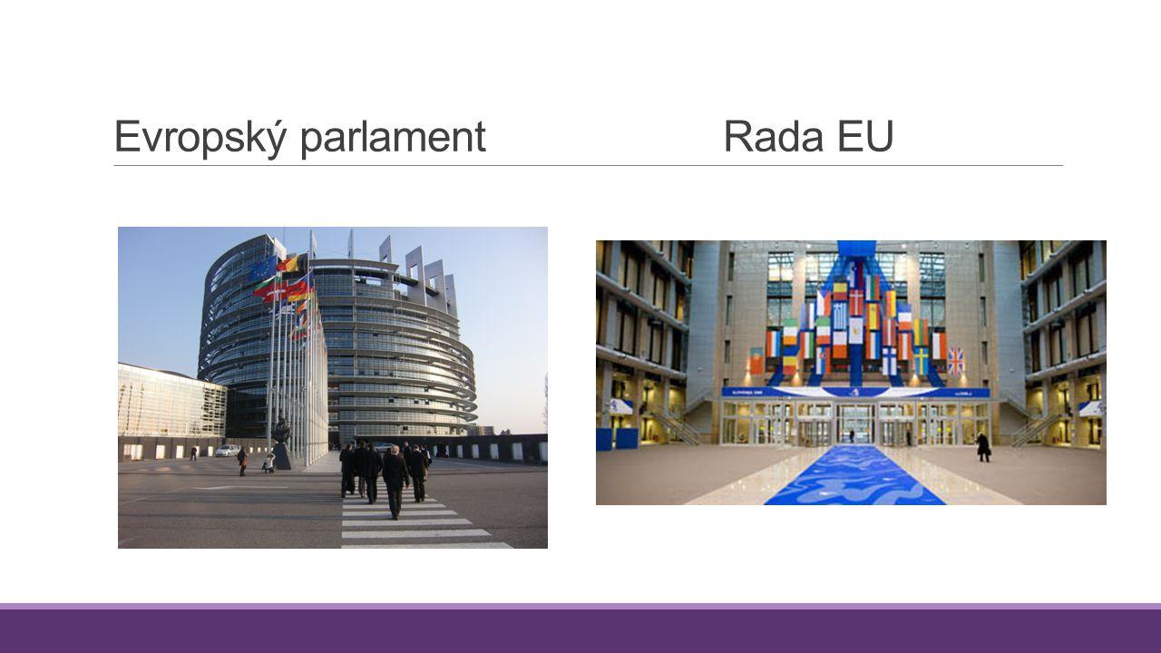 Evropský parlamentRada EU