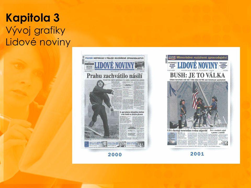 Kapitola 3 Vývoj grafiky Lidové noviny