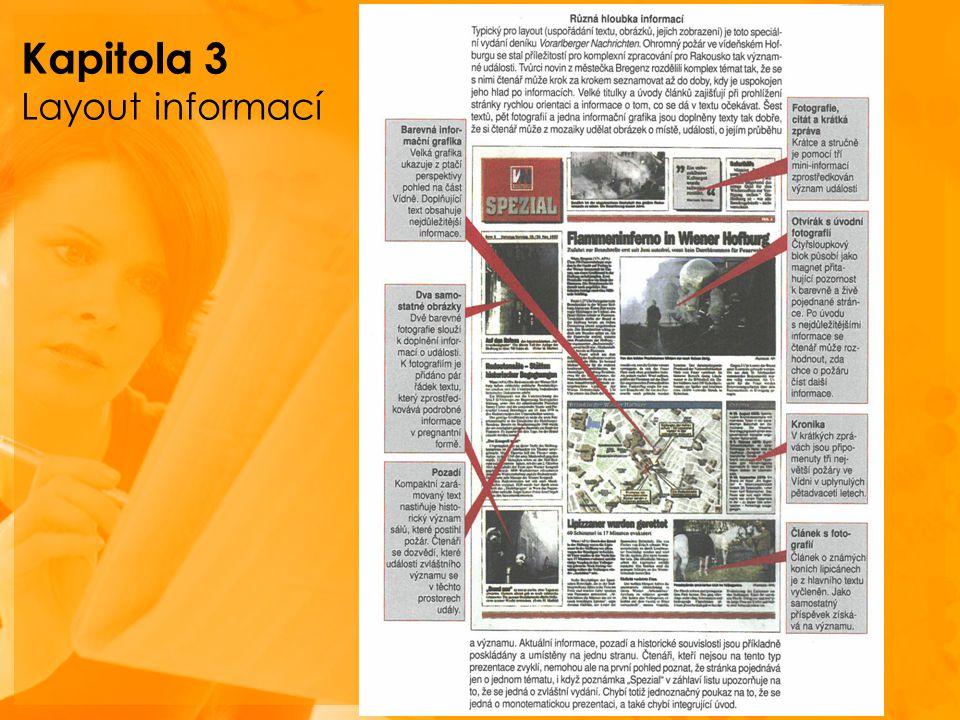 Kapitola 3 Layout informací
