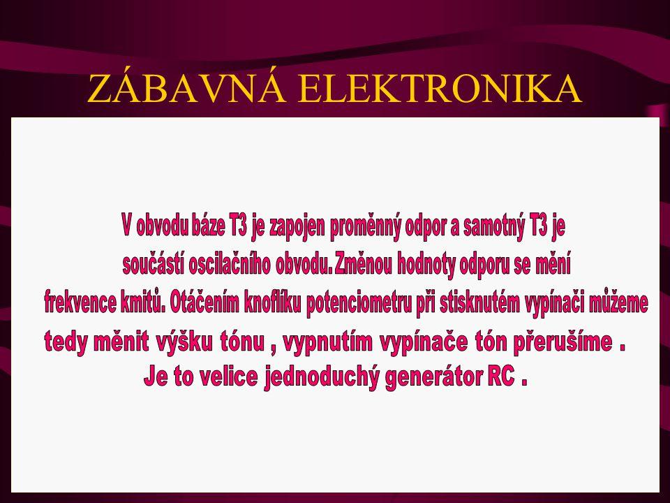 ZÁBAVNÁ ELEKTRONIKA