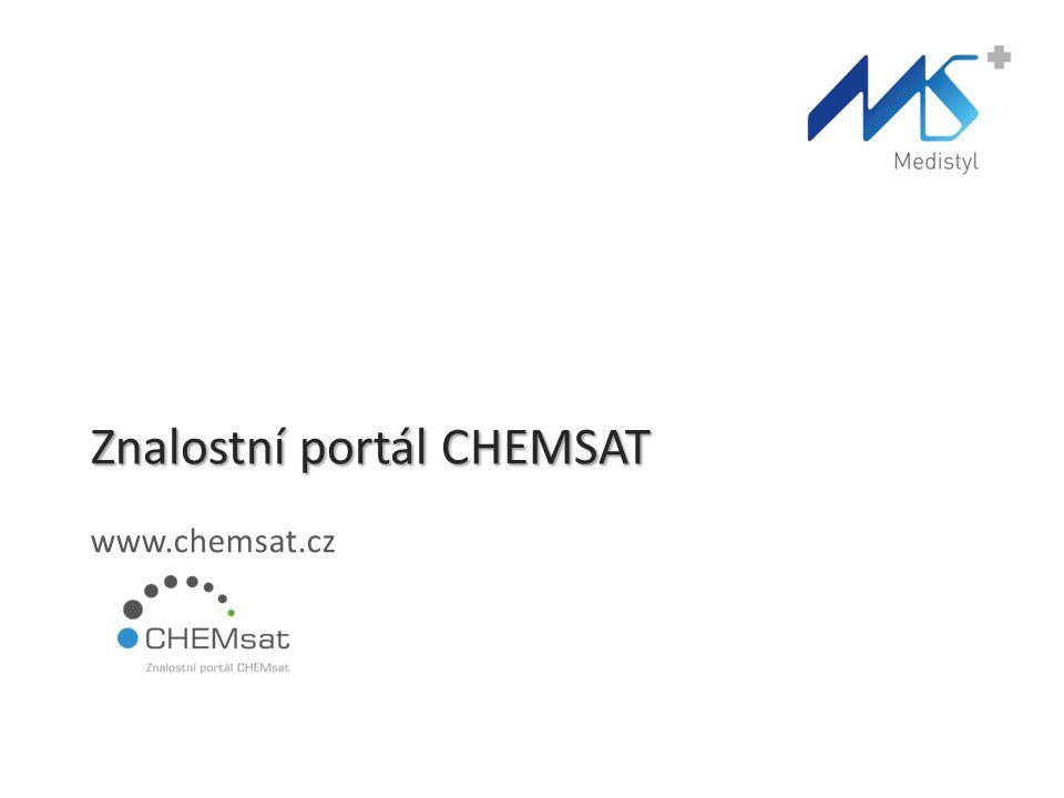 Znalostní portál CHEMSAT www.chemsat.cz