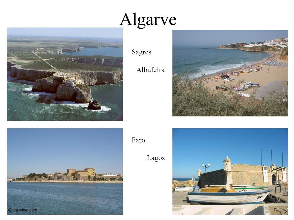 Algarve Sagres Albufeira Faro Lagos