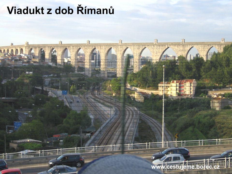 Viadukt z dob Římanů www.cestujeme.borec.cz