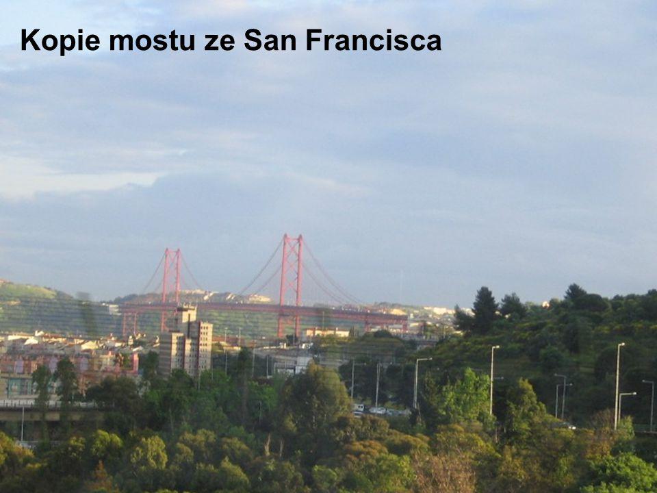 Kopie mostu ze San Francisca