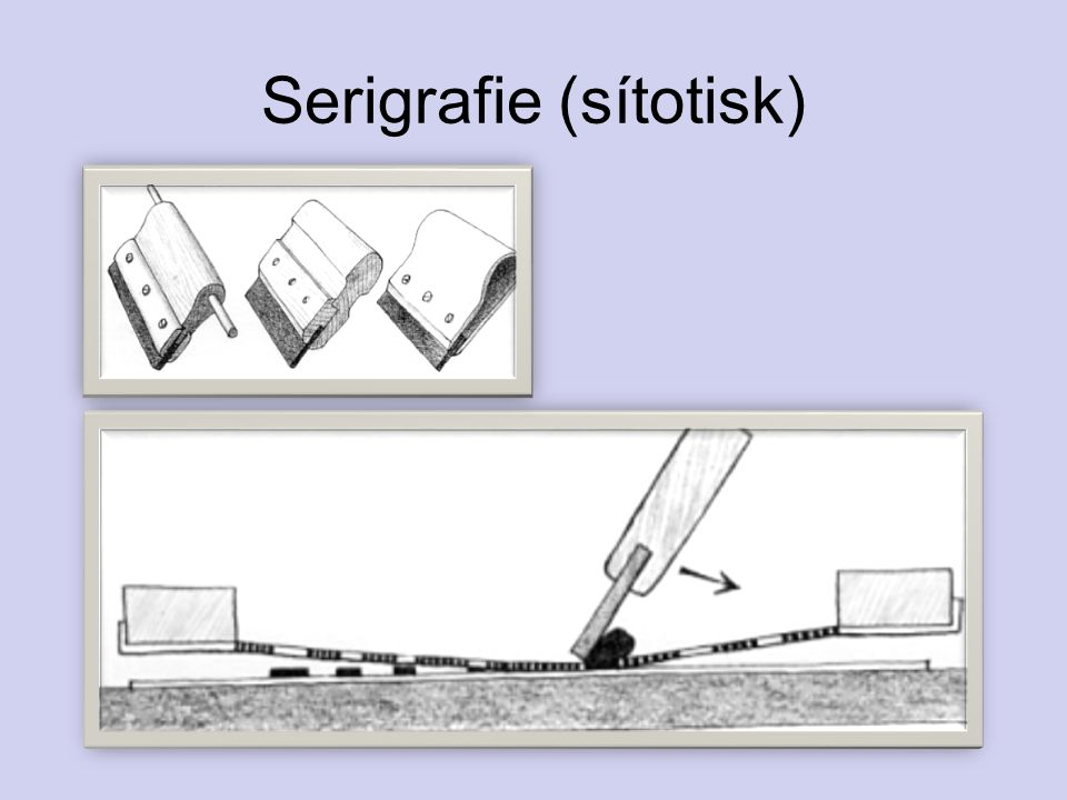 Serigrafie (sítotisk)