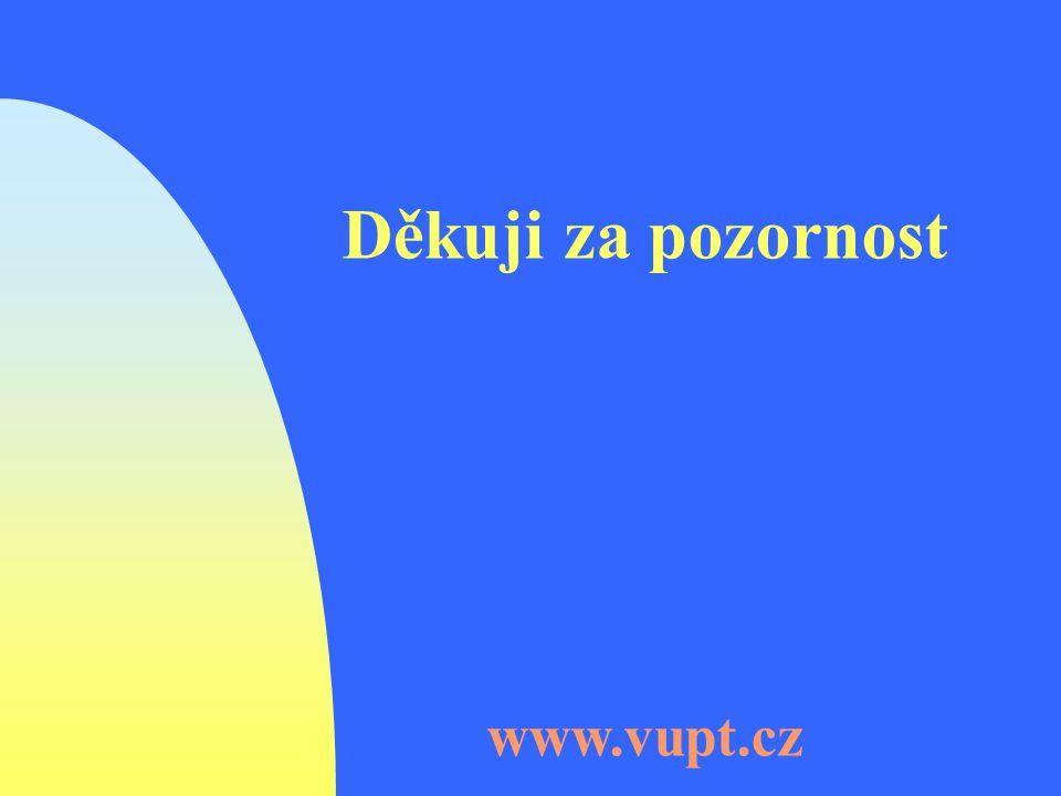 Děkuji za pozornost www.vupt.cz