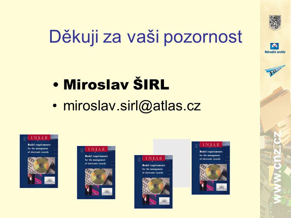 www.cnz.cz Děkuji za vaši pozornost Miroslav ŠIRL miroslav.sirl@atlas.cz