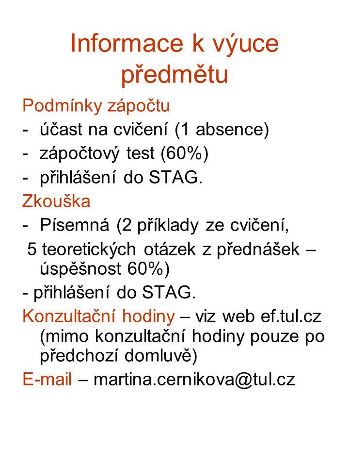 Literatura Základní Daňové zákony, např.MARKOVÁ, H.