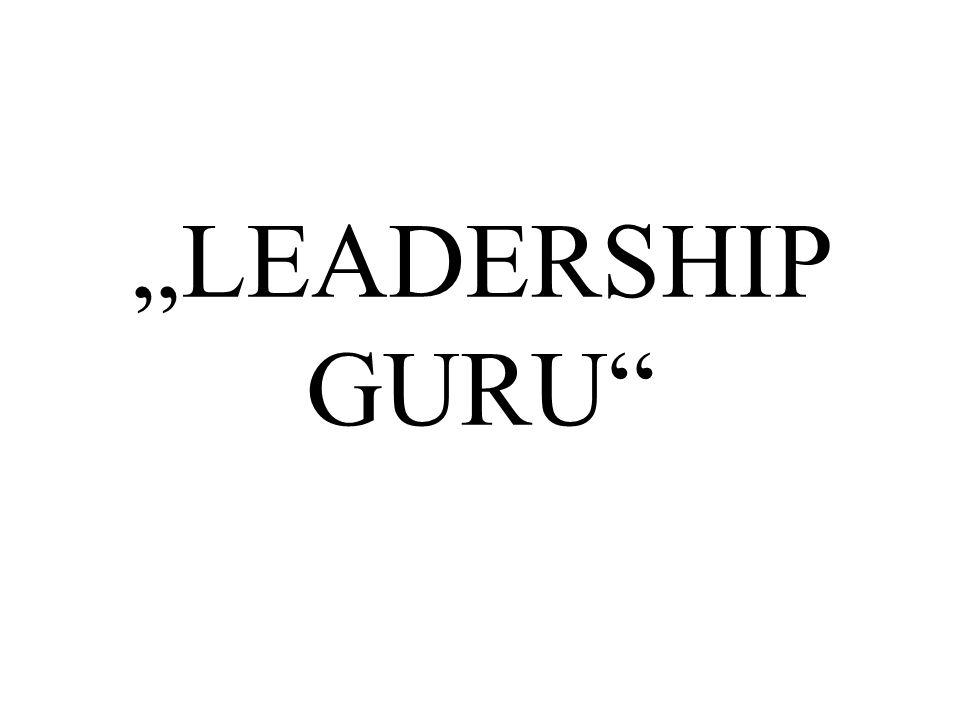 """""""LEADERSHIP GURU"""