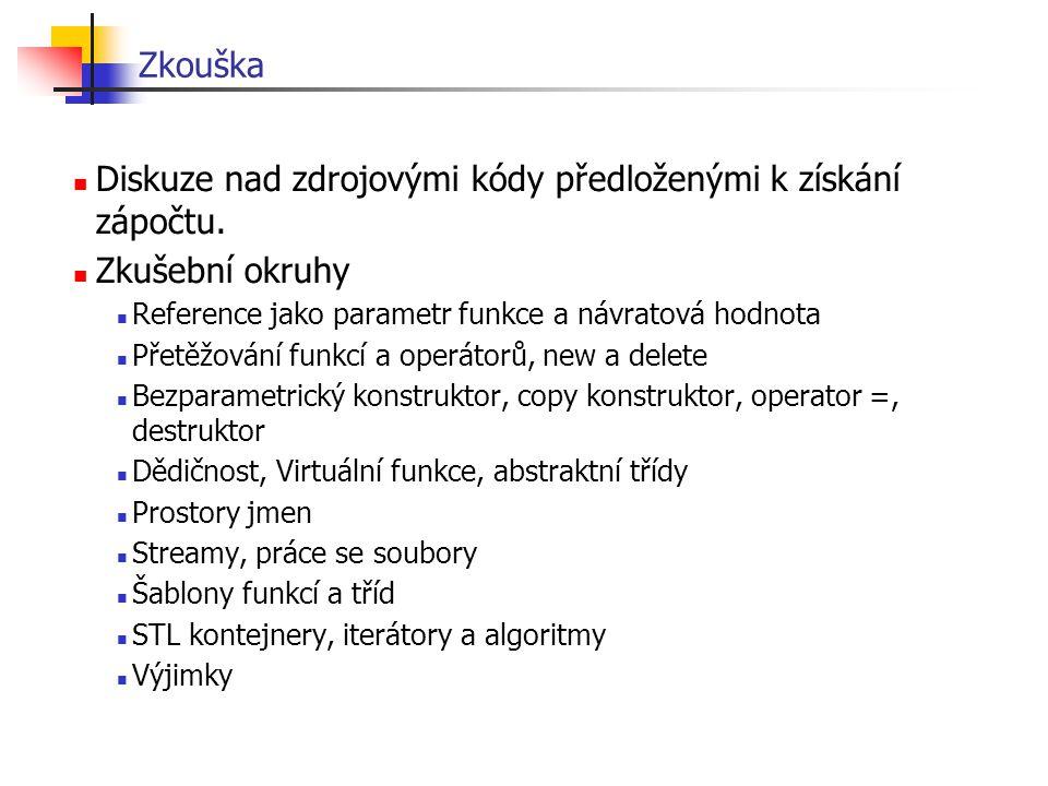 Polymorfismus – takto nelze Zvire* z; z = new Pes; z->jez(); // priroda(); z = new Clovek; z->jez(); // priroda(); z je ukazatel na zvíře volá se Zvire::jez() Zvire* z; z = new Pes; z->Pes::jez(); // priroda(); z = new Clovek; z->Clovek::jez(); // priroda(); do ukazatele na základní třídu (předka) dám ukazatel na nově vytvořený objekt odvozené třídy (potomka) pokus – na tvrdo chci metodu potomka nelze - syntaktická chyba pes není předkem zvířete