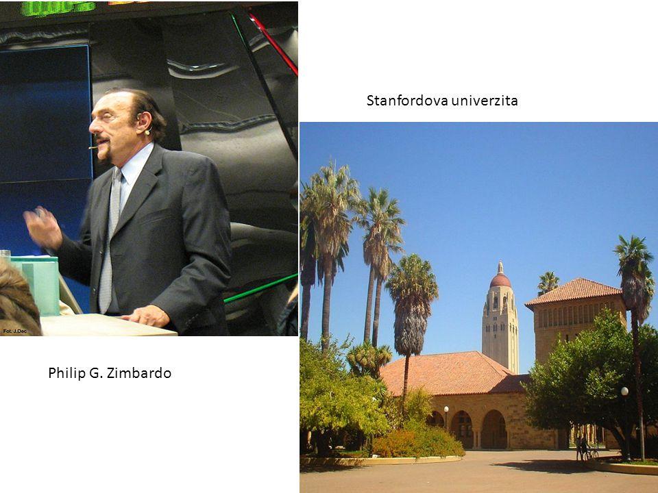 Philip G. Zimbardo Stanfordova univerzita