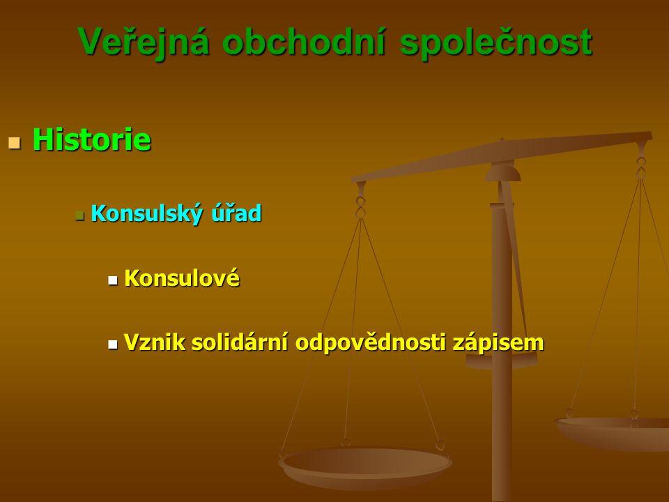 Veřejná obchodní společnost Společenská smlouva Společenská smlouvaPOZOR.