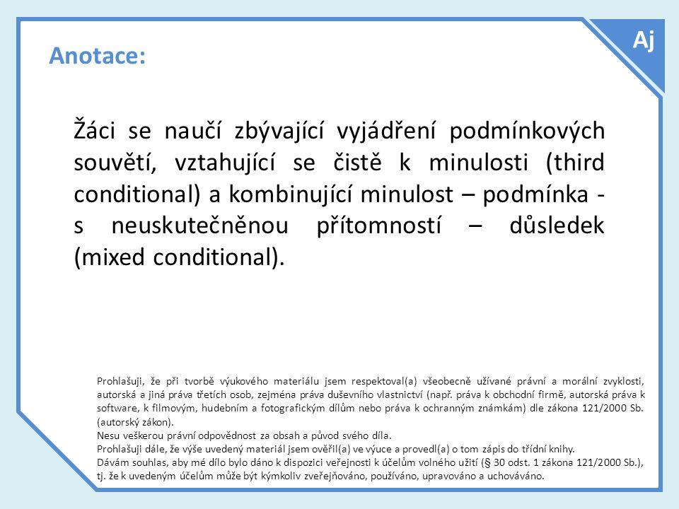 Zdroje použitých materiálů Dokument byl vytvořen bez pomoci odborné literatury.
