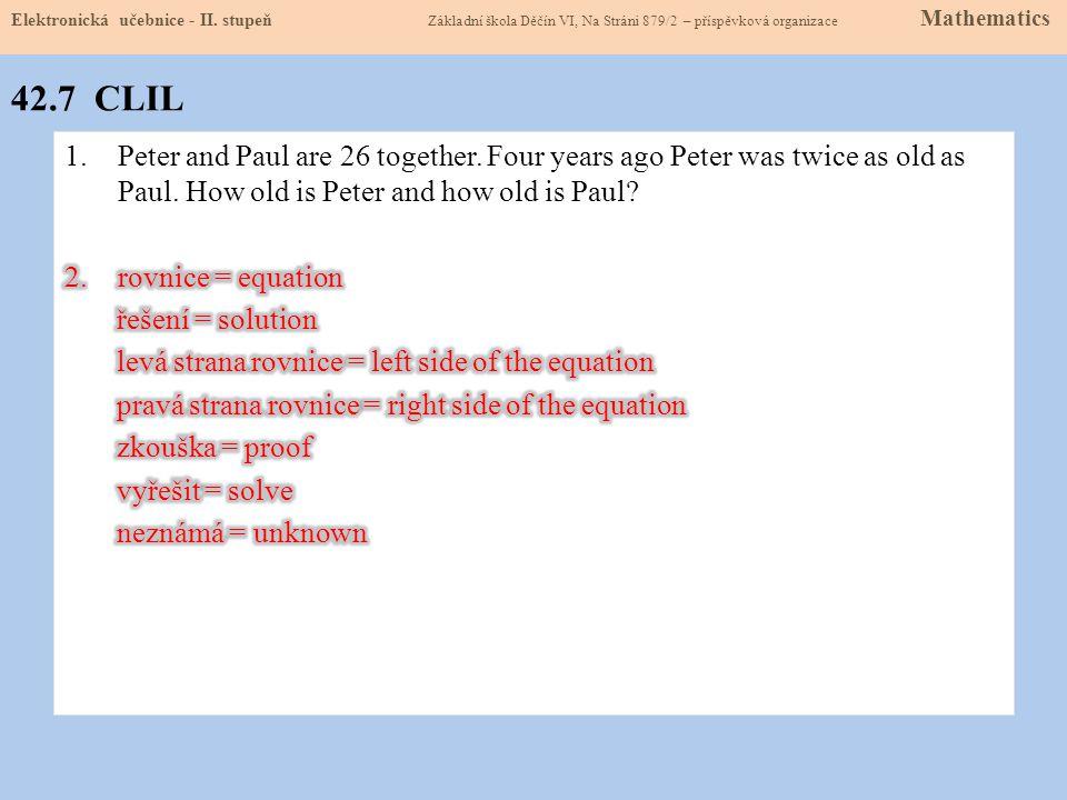 42.7 CLIL Elektronická učebnice - II.