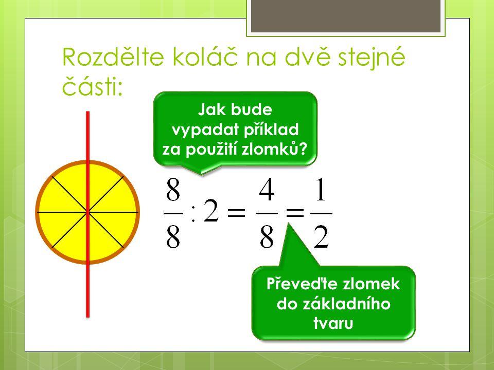 Dělení zlomků  Dělení zlomků je založeno na stejném principu jako NÁSOBENÍ  NEJPRVE SI ZOPAKUJEME:  Co je to přirozené číslo.
