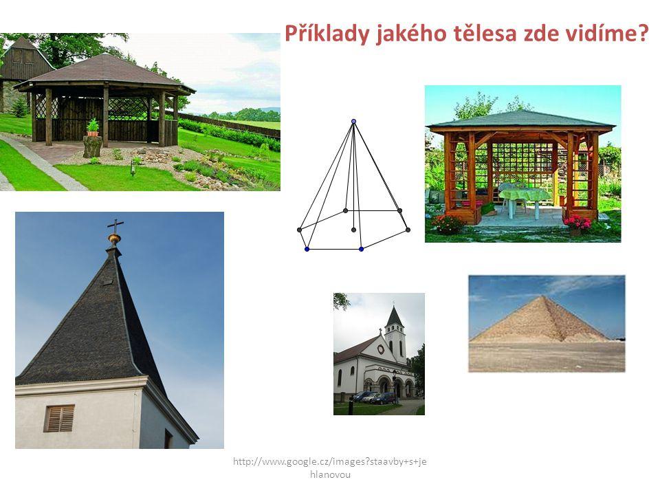 http://www.google.cz/images?staavby+s+je hlanovou Příklady jakého tělesa zde vidíme?