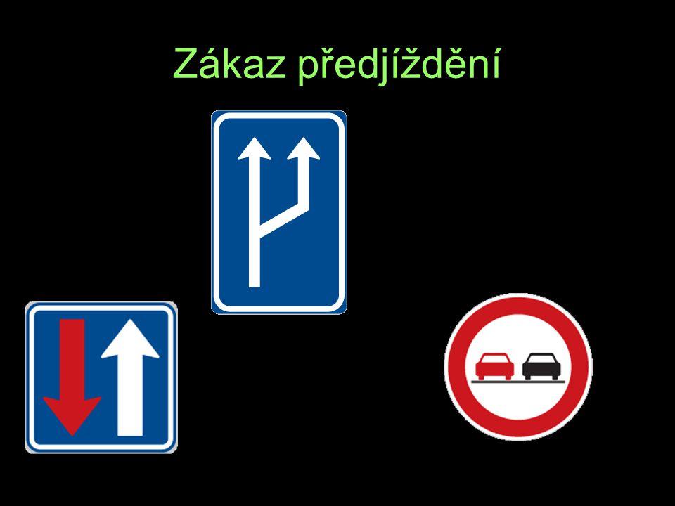 Zákaz předjíždění Z A D