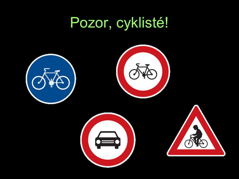 Pozor, cyklisté! T R E A