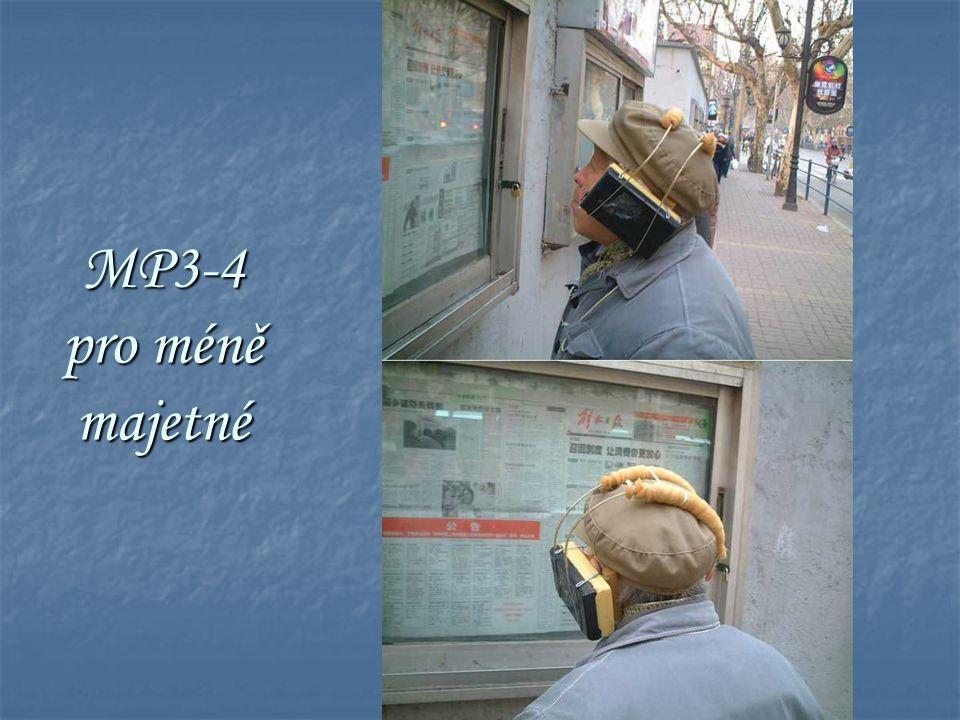MP3-4 pro méně majetné
