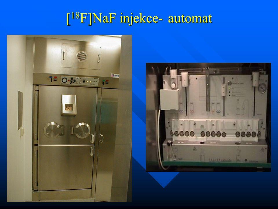 [ 18 F]NaF injekce- automat