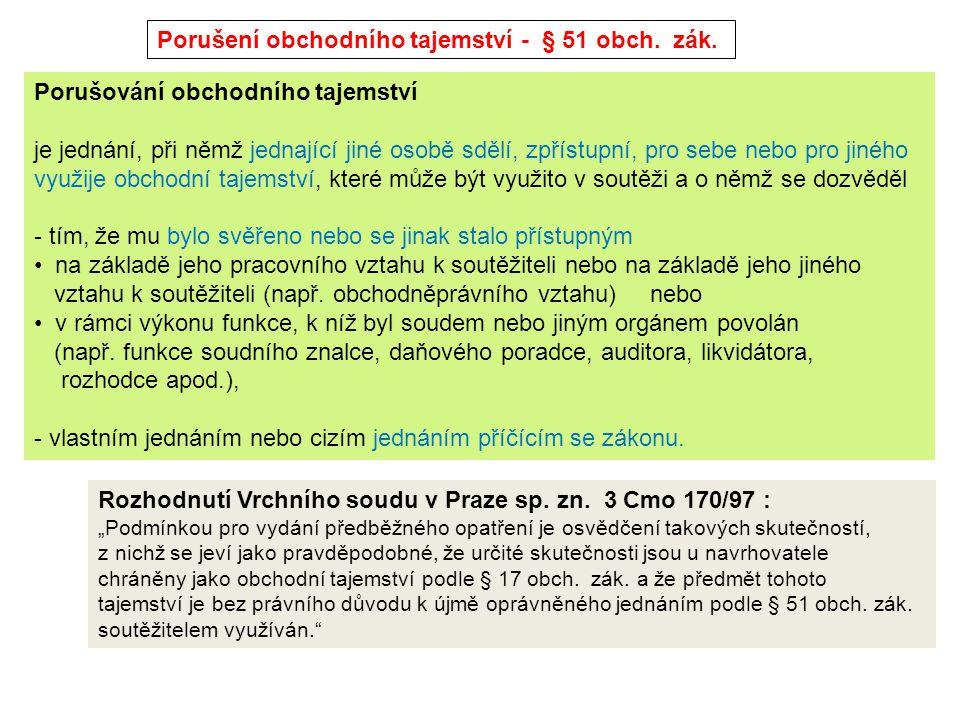 Ohrožování zdraví a životního prostředí - § 52 obch.