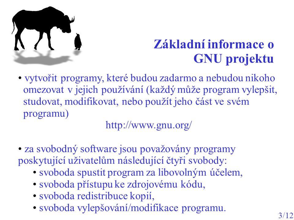 vytvořit programy, které budou zadarmo a nebudou nikoho omezovat v jejich používání (každý může program vylepšit, studovat, modifikovat, nebo použít j