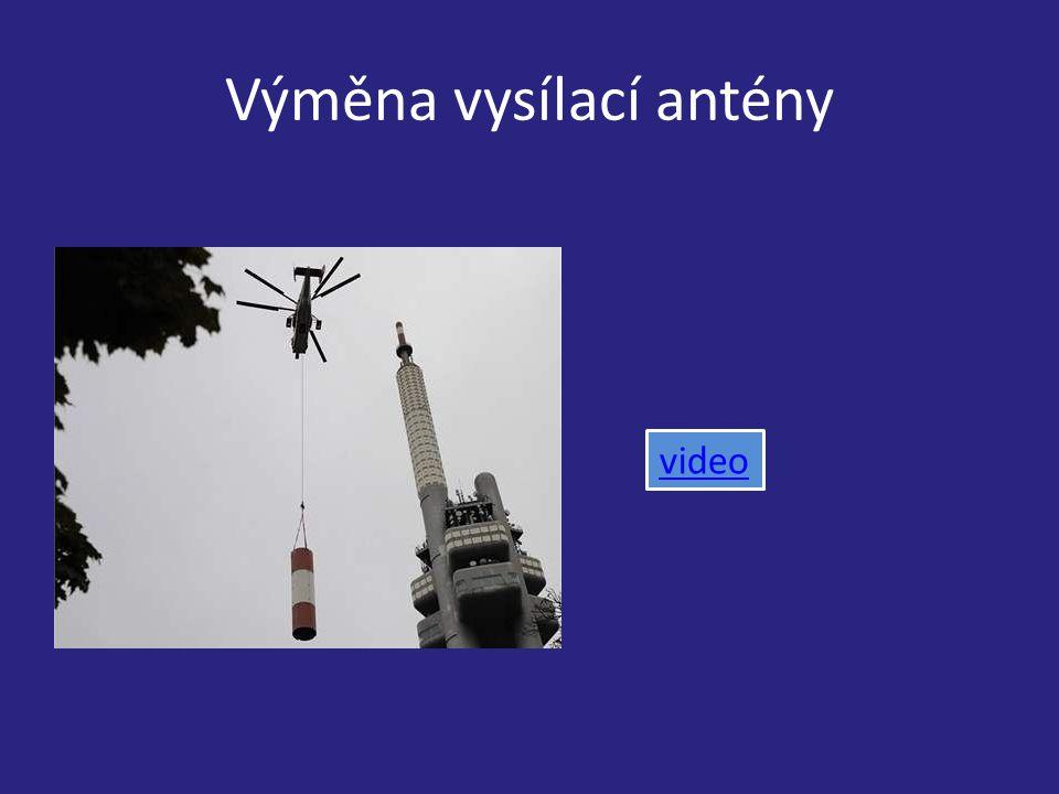 Výměna vysílací antény video