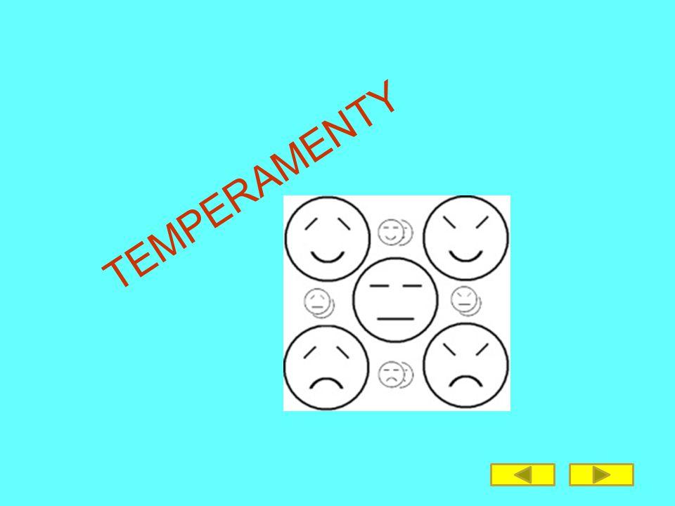 TEMPERAMENTY