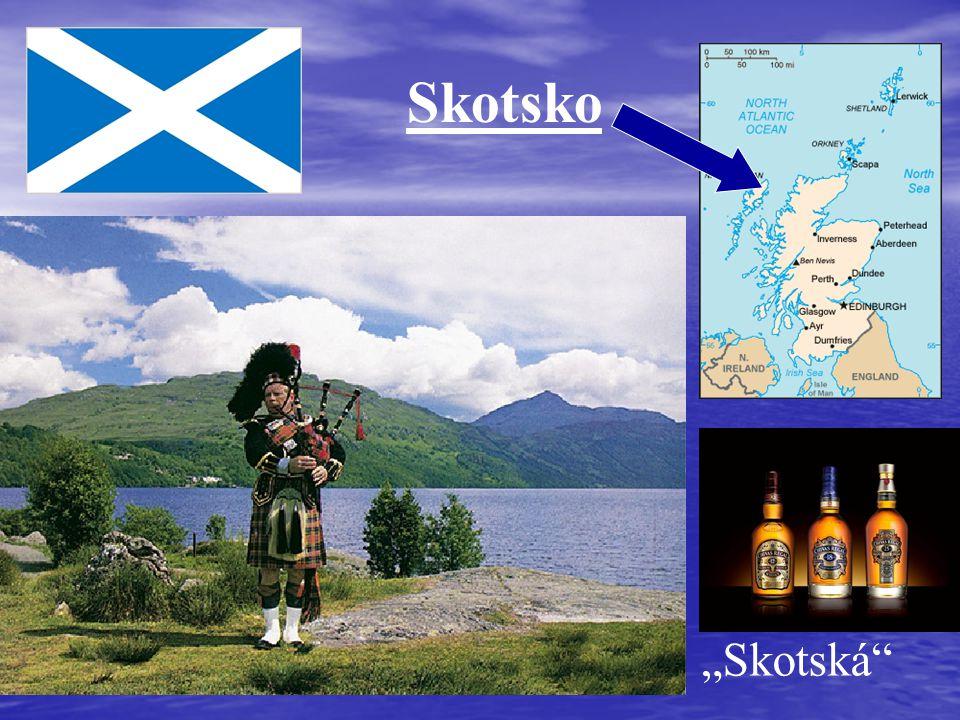 """Skotsko """"Skotská"""""""