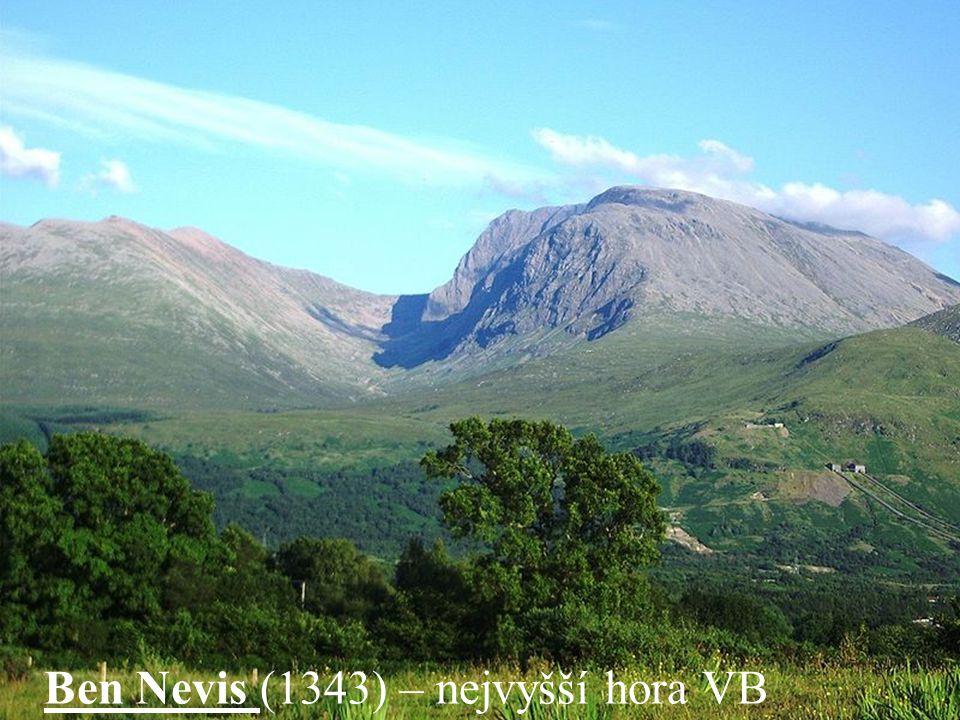 Ben Nevis (1343) – nejvyšší hora VB