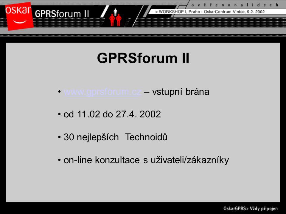 www.gprsforum.cz – vstupní bránawww.gprsforum.cz od 11.02 do 27.4.