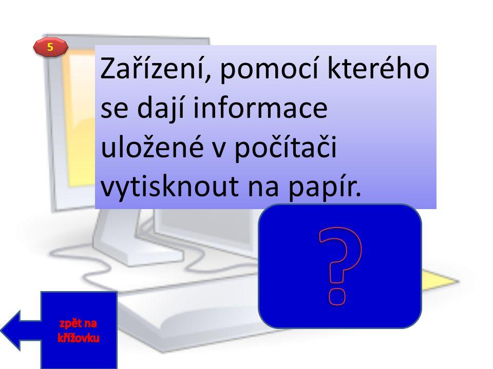 MONITOR KLÁVESNICE TELEFON MODEM TISKÁRNA MYŠ TABLET NOTEBOOK JOYSTICK MIKROFON FLASH 1 1 2 2 3 3 4 4 5 5 6 6 7 7 8 8 9 9 10 11 Řešení :