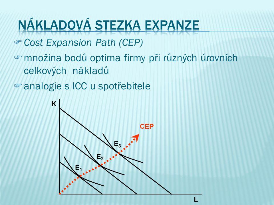 E L K K* optimum firmy Q TC E L K L* optimum firmy Q TC |MRTS| <|w/r||MRTS| > |w/r|