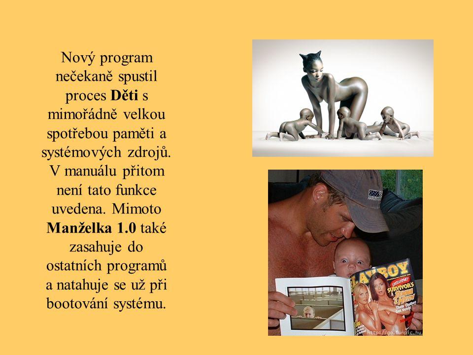 Ostatní programy, jako například Noční Poker 10.3 a Pivo 2.5 od té doby přestaly fungovat, při jejich spuštění se systém zhroutí.