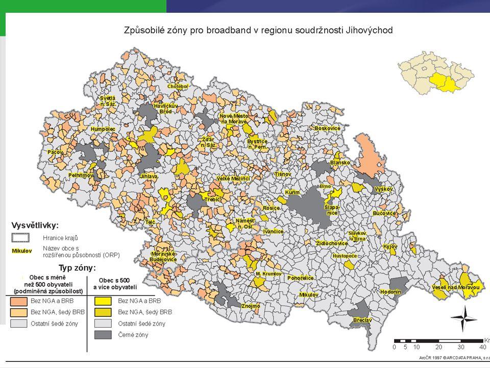 Lokalizační podmínky projektů ve výzvě