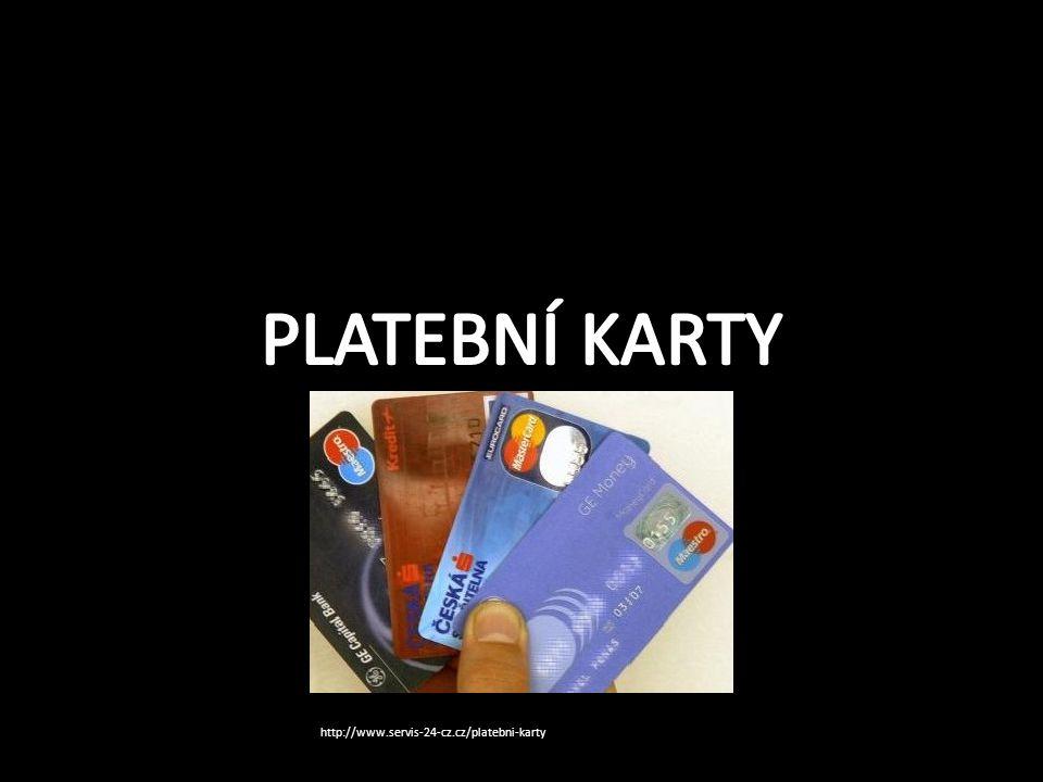 Platební karty Platební karty mohou být rozděleny podle: -způsobu zúčtování -způsobu provedení -vydávající asociace a třídy -použitelnosti -technologie