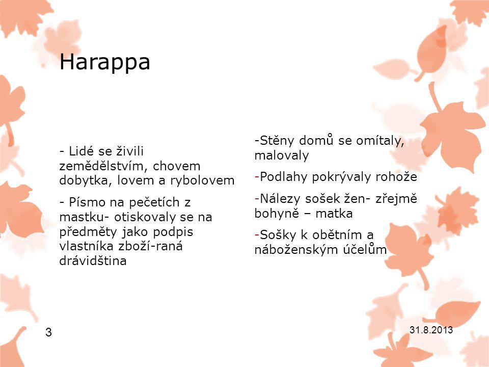 Harappa -Značky zvířat vemi zdařilé- např.
