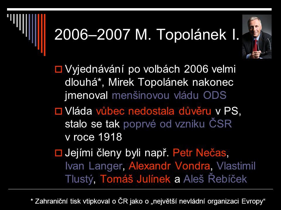 2006–2007 M.Topolánek I.