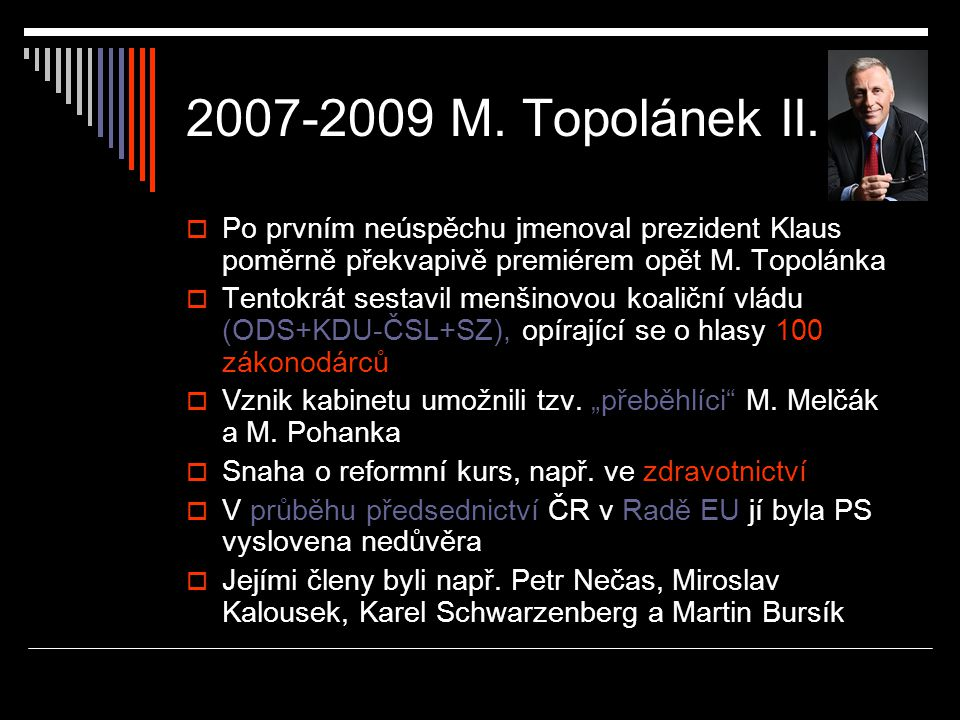 2007-2009 M.Topolánek II.