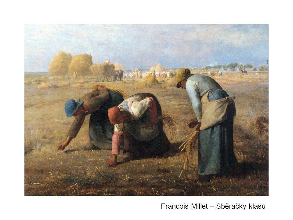 Francois Millet – Sběračky klasů