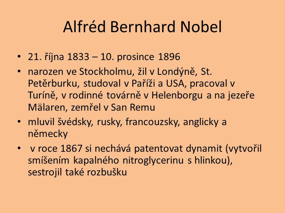 21. října 1833 – 10. prosince 1896 narozen ve Stockholmu, žil v Londýně, St.