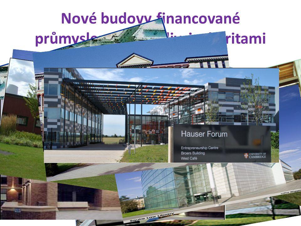 Nové budovy financované průmyslem, jednotlivci, charitami © Prof R. Hanka 201128