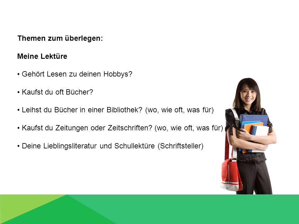 Was soll ich sagen.In deiner Schule sind gerade deutsche Schüler aus der Partnerschule.