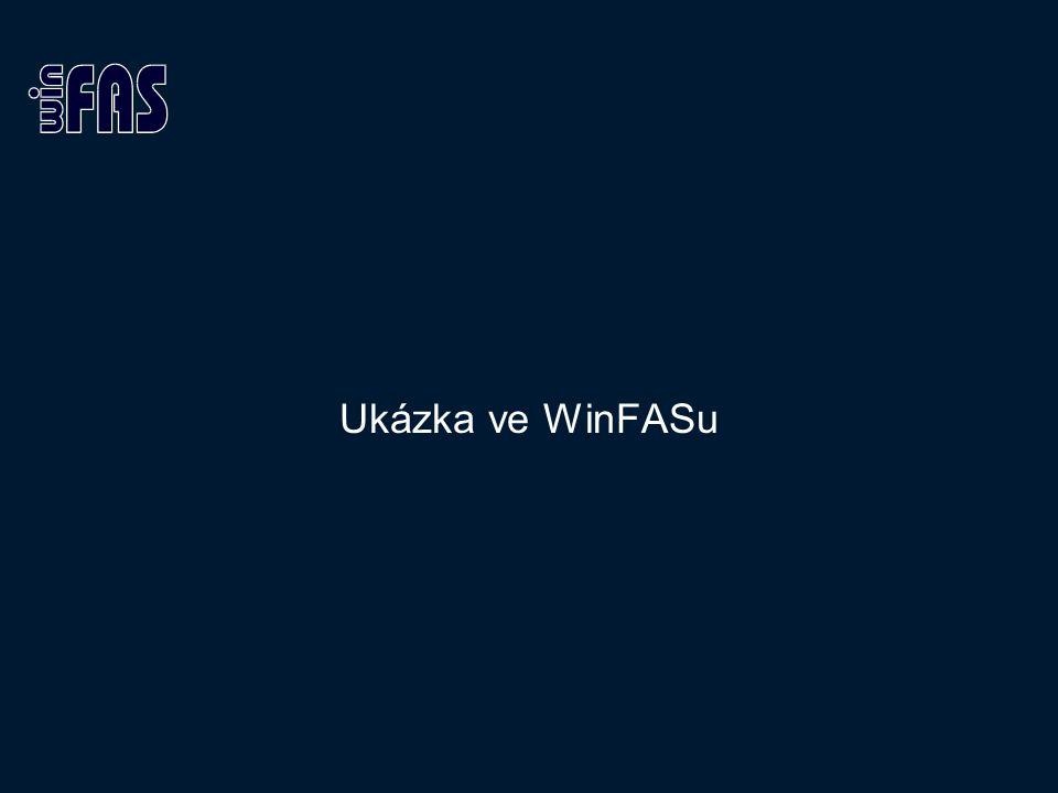 Ukázka ve WinFASu