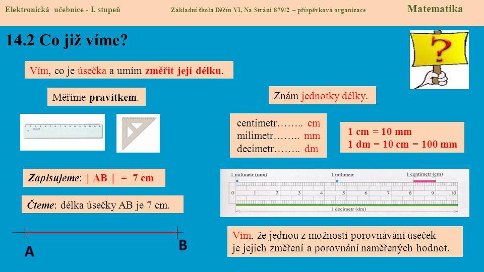 14.3 Jaké si řekneme nové termíny a názvy.Elektronická učebnice - I.